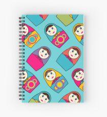 Babushka Dolls Spiral Notebook