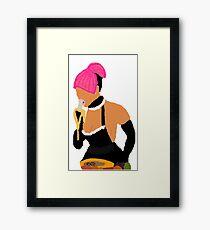 Nicki Minaj: Banana Eater Framed Print