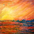 Sunset Departure by Heather Holland by Heatherian