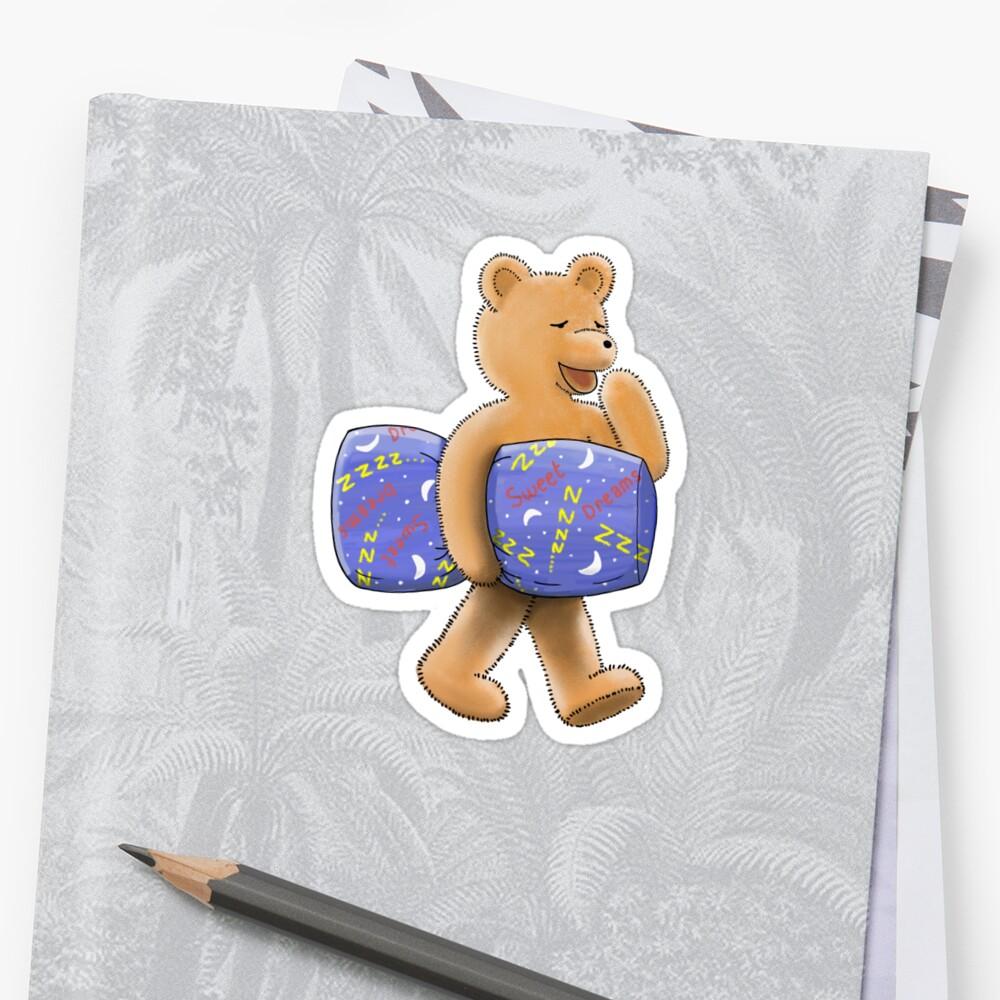 Sweet dreams sleepy bear by JumpingKangaroo