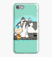 Aang And Appa Avatar iPhone Case/Skin