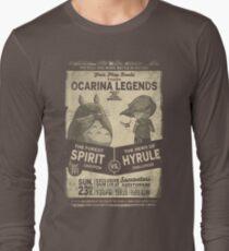 Totoro Zelda Long Sleeve T-Shirt