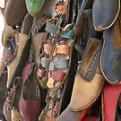 Colourful Hand Crafted  Leather Sandals by taiche