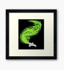 Firefly in Flight Framed Print