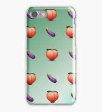 Suggestive Emoji Pattern iPhone Case/Skin