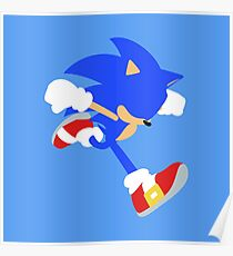 Smash Bros - Sonic Poster