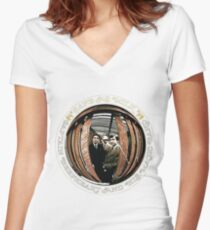 Captain Beefheart & His Magic Band - Safe as Milk Women's Fitted V-Neck T-Shirt