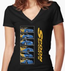 Spoon Sport Generation Women's Fitted V-Neck T-Shirt