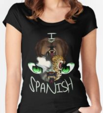 I Don't Speak Spanish Women's Fitted Scoop T-Shirt