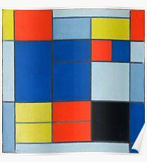 Piet Mondrian, Dutch, Title Composition C Poster