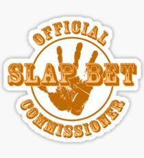 Pegatina HIMYM - Comisionada de Slap Bet