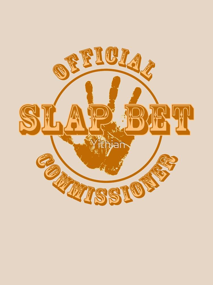 HIMYM - Comisionada de Slap Bet de Yithian
