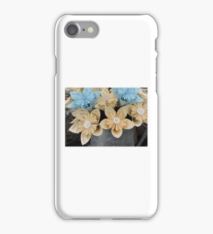 Candy Hearts & Paper Flowers iPhone Case/Skin