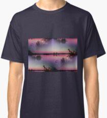 landscape lake at sunset Classic T-Shirt