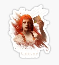 Leeloo Dallas, Multipass! Sticker