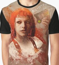 Leeloo Dallas, Multipass! Graphic T-Shirt