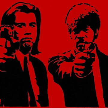 Pulp Fiction - Vincent and Jules by askal13