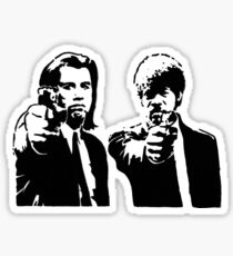 Pulp Fiction - Vincent and Jules Sticker
