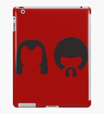 Pulp Fiction - Vincent and Jules hair layout iPad Case/Skin