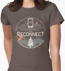 Camiseta entallada Desconectar y reconectar