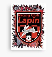 Racing Club Lapin - Jagged Sports Badge Canvas Print