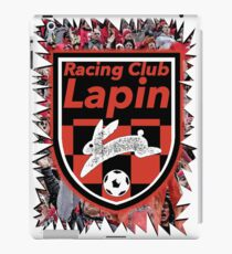 Racing Club Lapin - Jagged Sports Badge iPad Case/Skin