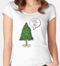 Treehugger Women's Fitted Scoop T-Shirt