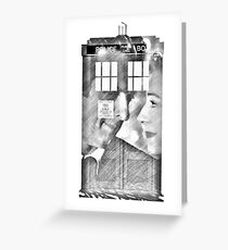 The Husband of River Song  Greeting Card