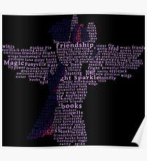 My Little Pony - Twilight Sparkle Typography Poster