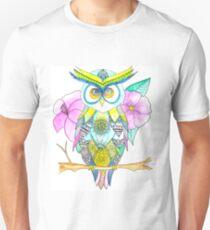 Wise Owl Wisdom Unisex T-Shirt