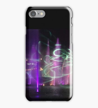 VIVID Darling Harbour Light Display iPhone Case/Skin