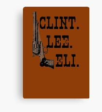 Clint Lee Eli Canvas Print