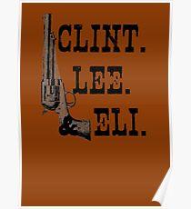 Clint Lee Eli Poster