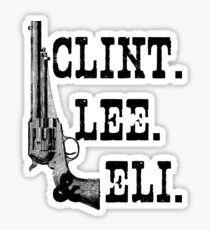 Clint Lee Eli Sticker