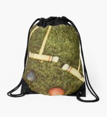 Croquet Drawstring Bag