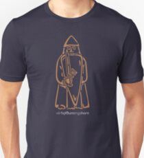 WeHadNoHorns - Berserker Lewis chessmen T-Shirt