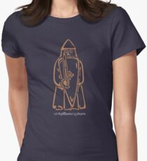WeHadNoHorns - Berserker Lewis chessmen Women's Fitted T-Shirt