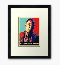 """Breaking Bad: Gus Fring """"Business Man"""" Framed Print"""