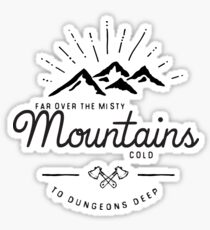 mountains transparent Sticker