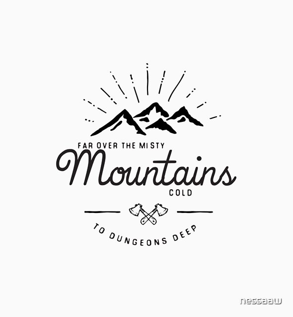 mountains transparent by nessaaw