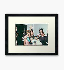 "London Fashion Week ""Selfie"" Framed Print"