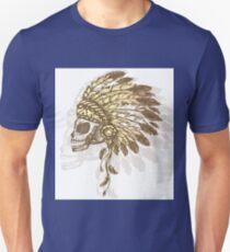 Native American Indian chief headdress T-Shirt