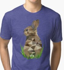 Tshirt Rabbit - Lapin - Conejo - Kaninchen Tri-blend T-Shirt