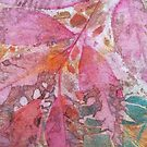 Pink Leaves by Val Spayne