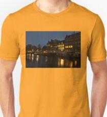 Springtime Amsterdam - Golden Windows In Jordaan T-Shirt