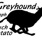 """Greyhound --the """"35 mph Couch Potato"""" =) by stellarmule"""