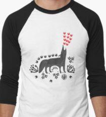 Wolf...  Men's Baseball ¾ T-Shirt