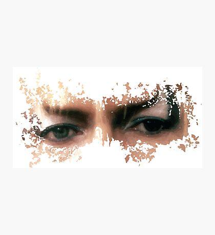 David Bowie: Jareth Eyes  Photographic Print