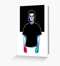 Nick Cave - Red Right Hand Greeting Card