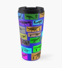 Dinosaur Alphabet Travel Mug
